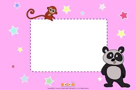 panda printable photo frames kids mocomi