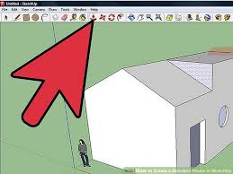 how to create a standard house in sketchup 8 steps