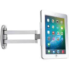 Ipad In Wall Mount Docking Station Cta Ipad Tablet Wall Under Cabinet And Desk Mount With 2 Mounting