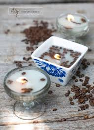 coffee bean candle make your house smell amazing with diy vanilla candles