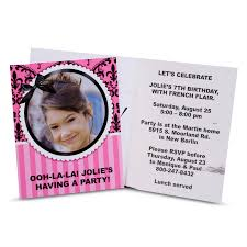 paris damask invitations 8 birthdayexpress com