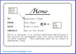 6 contoh memo resmi formal dan tidak resmi informal dalam