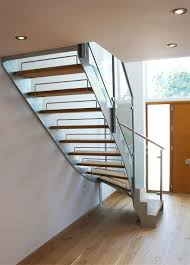 Quarter Turn Stairs Design Bespoke Staircase Staines In A Quarter Turn Steel And Timber Design