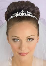 bridal tiaras tiara veil hairstyles bridal tiara it s my wedding day