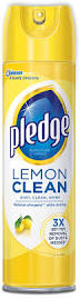 Kitchen Cabinet Cleaner And Polish Pledge Restore U0026 Shine Furniture Spray With Natural Orange Oil
