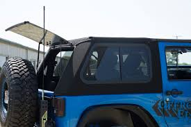 jeep soft top open bestop trektop pro hybrid top review offroad elements inc