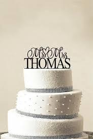 gold monogram cake topper wedding cake topper initials wedding corners