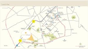Rohini Metro Map by Uniworld Gardens Residential Apartments In Gurgaon Unitech Group