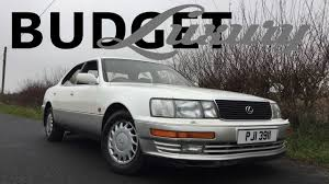 lexus ls depreciation luxury on a budget lexus ls400 review youtube