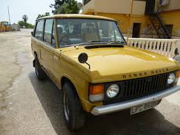 chrome range rover classic chrome land rover range rover classic 1975 n gold