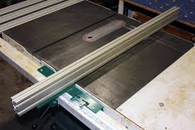 diy biesemeyer table saw fence make a biesemeyer fence system using an aluminum extrusion fence