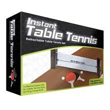 instant retractable table tennis set amazon co uk sports