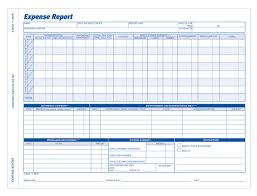 Expense Report Mileage by Expense Report Weekly 2 Part Carbonless 50 Pk