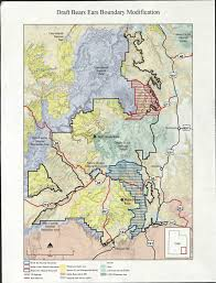 grand map maps boundary modifications for bears ears and grand staircase