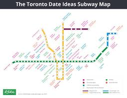 Ttc Subway Map by These Are The Best Date Spots In Toronto At Every Single Subway