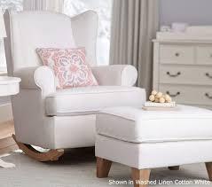 White Glider Rocking Nursery Chair Modern Glider Rocking Chair Trendy Modern Glider Chair Australia
