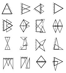 triangle tattoo designs meaning google search funnier in