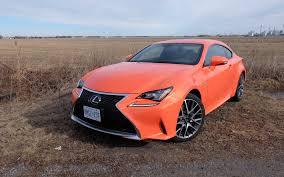 lexus minority report sports car 2016 lexus rc 350 f sport a looker and a goer review