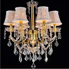 Crystal Glass Chandelier Large Special Color Crystal Glass Material Hotel Italian