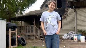 10 year old boy saves grandmother in house fire wsb tv