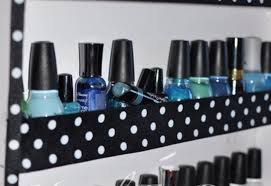 how to make your own nail polish rack diy projects craft ideas
