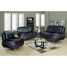 Faux Leather Living Room Set Faux Leather Living Room Set
