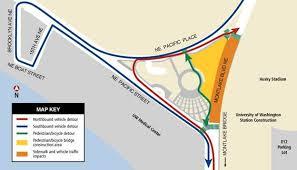 parking at husky stadium light rail news digest montlake closures environmental excellence finalist