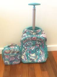 Pottery Barns Teens Pottery Barn Kids Teen Rolling Backpack Lunch Box Girls Paisley