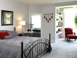 marvelous modern bedroom design and decoration using all white