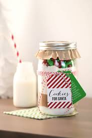 christmas cookies in jar christmas lights decoration
