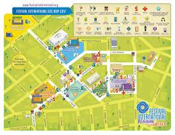 Festival Map Information U2013 Festival International