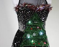 light up ugly christmas sweater dress ugly christmas dress etsy