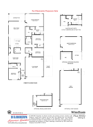 dr horton floor plan windham rancho cabrillo peoria arizona d r horton