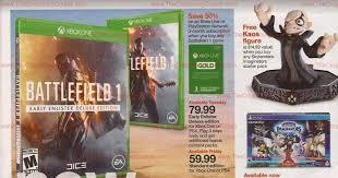 xbox 360 black friday ad target deal preview skylanders imaginators launch week deals at target