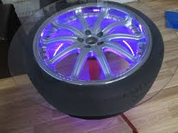 alloy wheel coffee table kahn rsv 2 with led lights in omagh