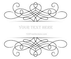 free vector floral ornament banner with place for your