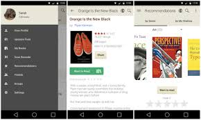 goodreads android app updated with a reved design and enhanced