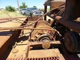 1991 international 4900 flatbed truck item k3120 sold s