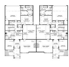first floor plan of bungalow european traditional multi family