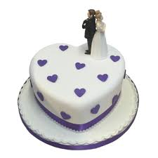 heart wedding cake single heart wedding cake