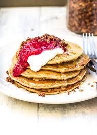 pancakes cuisine az vegan oat pancakes the green spoon
