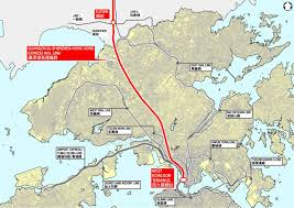 Hong Kong Metro Map by Guangzhou Shenzhen Hong Kong High Speed Rail Skyscrapercity