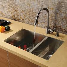 Modern Kitchen Sink Faucet Kitchen Sink Faucet And Dispenser Modern Kitchen Sinks By Vigo