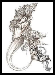 25 drawings mermaids ideas profile
