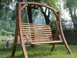 Wooden Swing Set Canopy by Patio 42 Lowes Porch Swing Lowes Swing Set Lawn Swing Outdoor