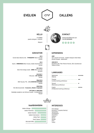 Best Resume Templates On Canva by 50 Inspiring Resume Designs And What You Can Learn From Them