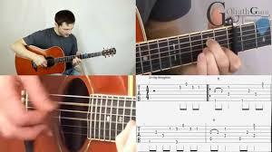 video tutorial belajar gitar klasik how to play let her go passenger tutorial tabs guitar lesson