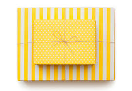yellow wrapping paper sugar paper reversible wrapping paper wantist