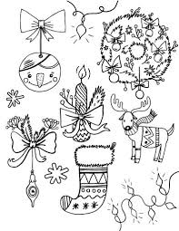 ornaments coloring pages for adults jovie co