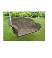 patio furniture hanging egg patio swing with base chairs and